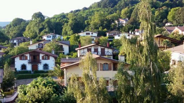 バスク地方のお家