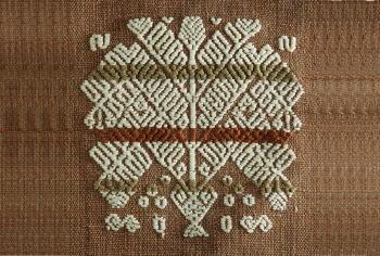 マヤの織物