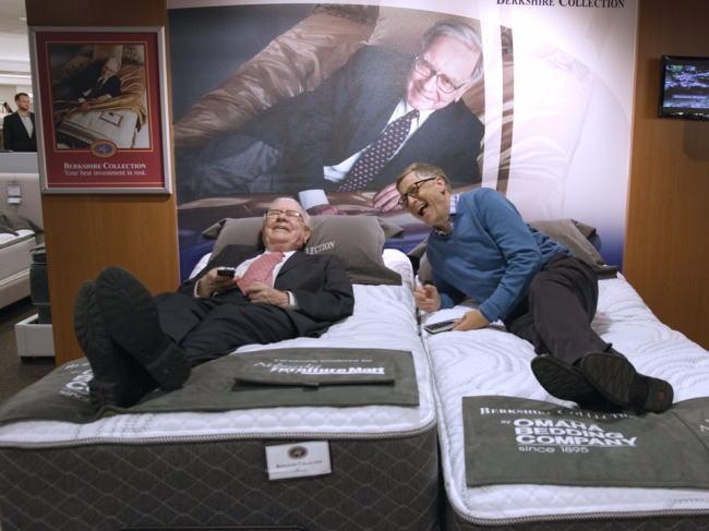 ビル・ゲイツとウォーレン・バフェット